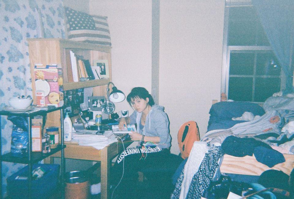 Champio Founddr Jolijt Tamanaha in Dorm Room