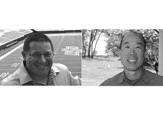 Stadia Ventures Founders Tim Hayden (left) and Art Chou (right)