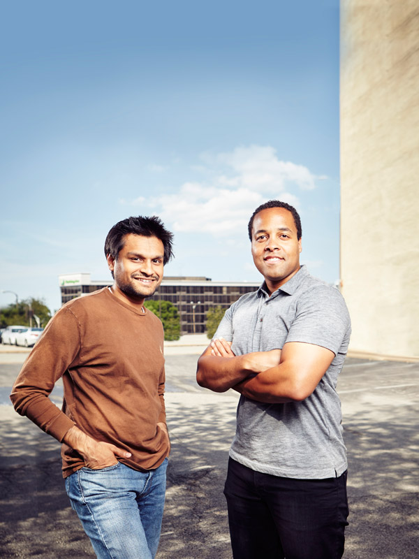 Kunal Parbadia, Co-Founder and VP of Operations; Chris Motley, Co-Founder and CEO