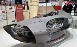 EDAG Light Cocoon Car Chassis