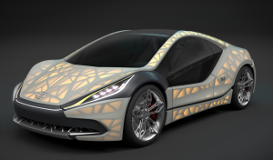 EDAG Light Cocoon Car Skinned
