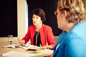 PWE Founder and Lead Managing Partner Mary Jo Gorman