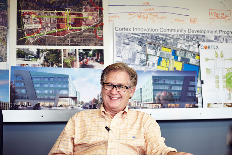 Cortex President and CEO, Dennis Lower