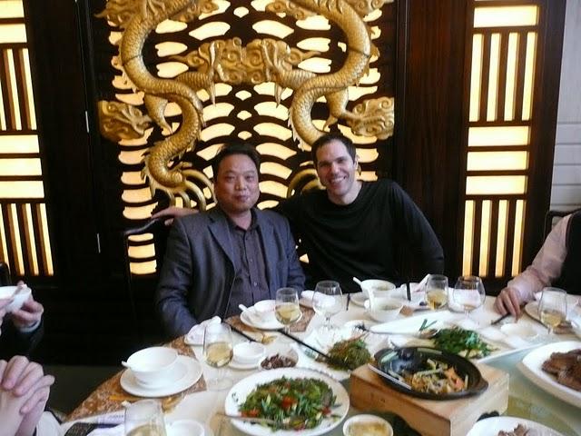 Gary Kellmann with fungshui master
