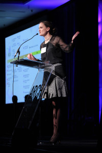 Arch Grants executive director Ginger Imster at the Arch Grants Gala 2014