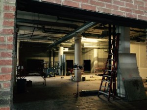 Construction at the Filament Building.