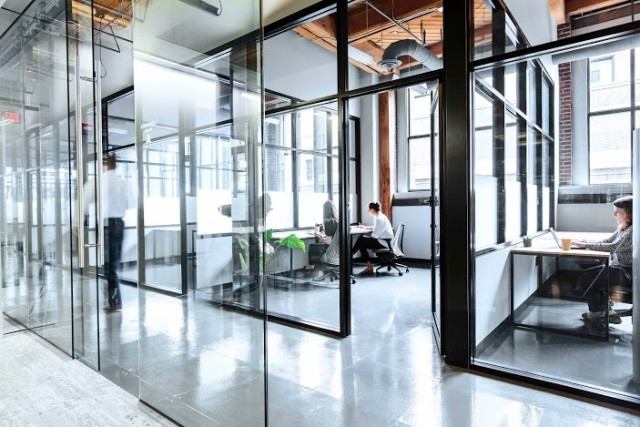Industrious co-working and shared office space opened Downtown at 555 Washington Ave. in summer 2015 and is attracting lifestyle and fashion startups like Garbshare and The Normal Brand.