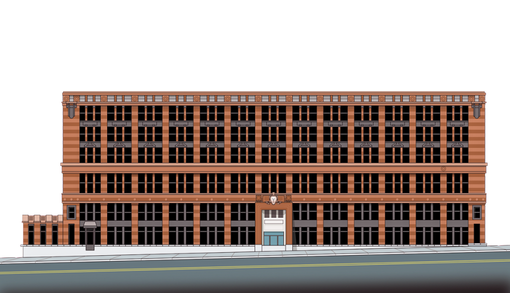Rendering of the Filament Building.
