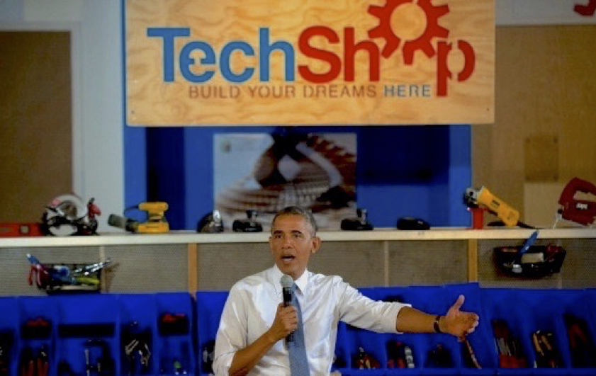 Last summer, President Obama visited TechShop Pittsburgh and spoke on manufacturing and innovation
