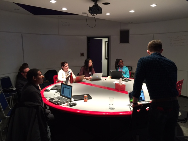 Savvy Coders Intro Session using The Bubble Room at TechArtista in the CWE