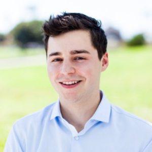 co-founder of SafeTrek, Zach Winkler