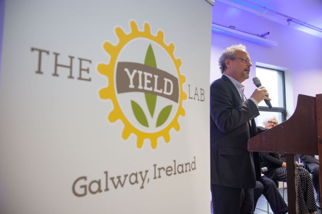 Thad Simons, Managing Director of The Yield Lab, announced The Yield Lab Galway.