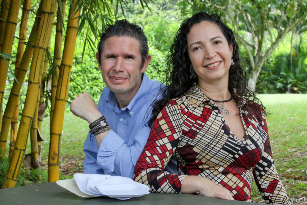 Andres and Claudia Barona