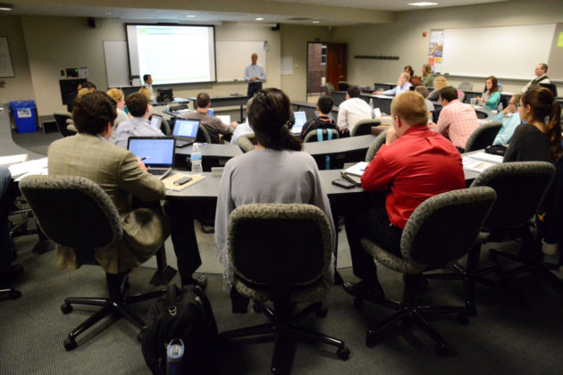 SLU COOK MBA Classroom