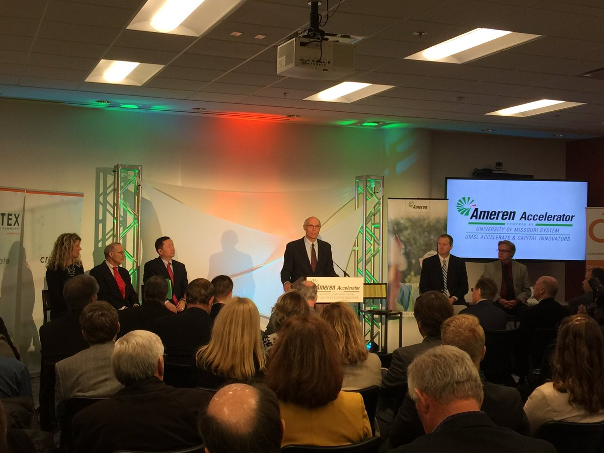 Ameren Launches Energy Technology Accelerator in St. Louis, Partners With Capital Innovators and UMSL Accelerate