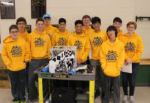 Burroughs Robotics Team Photo