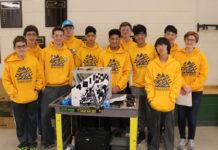 Burroughs Robotics Team Photo