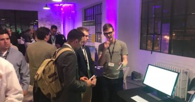 PopWallet demo their mobile wallet marketing automation platform. Check out EQ's live video interview with PopWallet's CTO and co-founder, Wes Biggs. PHOTO CREDIT: PopWallet