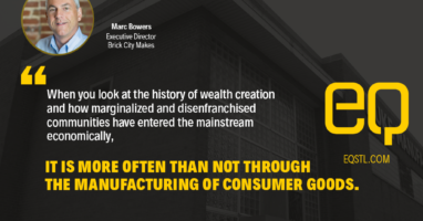Marc Bowers on the history of manufacturing as a way to create wealth in marginalized communities.