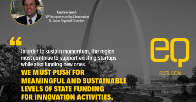 Andrew Smith of the St. Louis Regional Chamber authored the 2017 Greater St. Louis Venture Capital Overview