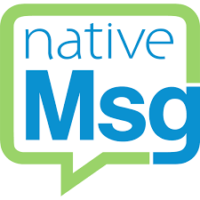 nativeMsg logo