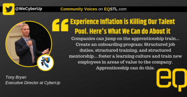 Tony Bryan EQ Social Graphic (experience inflation)
