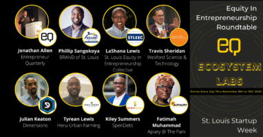 Equity In Entrepreneurship Roundtable STL Startup Week 2020 Webinar YouTube