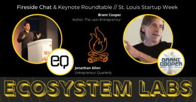 Brant Cooper Fireside Chat Keynote Roundtable EQ Ecosystem Labs Webinar YouTube
